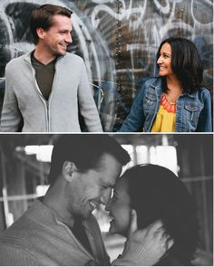 offbeat California engagement session from Orange Owl Photography