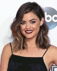 Lucy Hale's Honey Highlights - MarieClaire.com