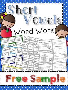 Introduce short word families in context and increase the rigor of your word work activities. This product includes short stories and comprehension questions. Great for small groups, literacy centers, and independent work.