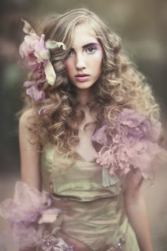 Fairytale fashion fantasy / karen cox.  ♔ Elfin Forest