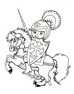 El Rincón de las Melli: Caballero con lanza