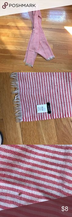 J.Crew light weight scarf. J.Crew light weight scarf. Perfect for transitional weather. In good condition with a few small holes (tried to capture). 💯 wool J. Crew Accessories Scarves & Wraps