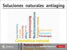 Infographic: Soluciones naturales antiaging -