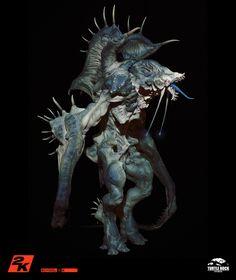 The Kraken: an early concept for Turtle Rock Studios' videogame Evolve.