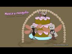 (36) Gloria Fuertes - La mosca y el mosquito (Música de Andrés Meseguer) - YouTube