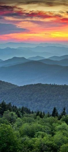 Appalachian Mountains, North Carolina