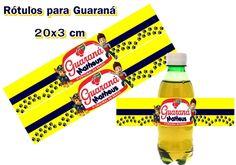 Rótulo Guaraná Patrulha Canina