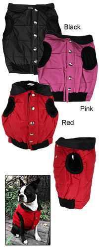 All Weather Quilted Dog Vest at The Animal Rescue Site