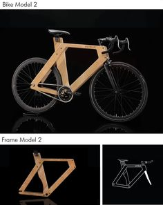 Wooden bike by Alberto Podeschi — Kickstarter