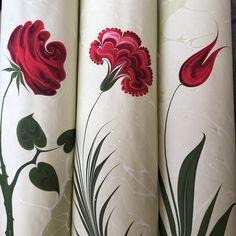 Ebru Art, Persian Pattern, Marble Art, Pillar Candles, Paper, Islamic, Flowers, Artist, Painting