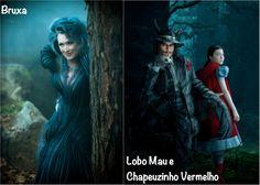 Movie Tip: Caminhos da Floresta! #Costume #Figurino #IntoTheWoods #CaminhosdaFloresta #Disney