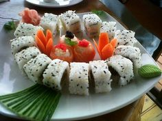 Sushi in Plettenbergbay Sushi, Eat, Ethnic Recipes, Food, Essen, Yemek, Meals