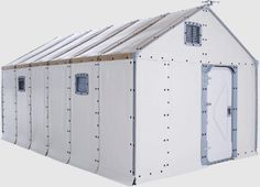 Fire safety concerns halted the rollout of Better Shelter and the IKEA Foundation's portable, flat-pack refugee shelters to camps. The Swedish social enterprise is working on a redesign to launch l. Emergency House, Emergency Shelters, Off Grid Tiny House, Modern Homesteading, Ikea Home, Affordable Housing, Sustainable Architecture, Architecture Design, Design Museum