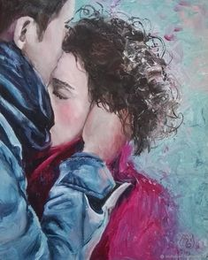 Meeting, oil painting on canvas, lovers, Original Oil Painting Valentine's Day gift New Art canvas Meeting holding hands tenderness love. Painting Love Couple, Couple Art, Oil Painting On Canvas, Canvas Art, Art Sketches, Art Drawings, Romance Art, Old Paintings, Romantic Paintings