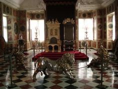Throne room in King's Palace-Copenhagen