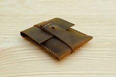 Practical Men's Card Holder Leather Credit Card Case by Benittorre