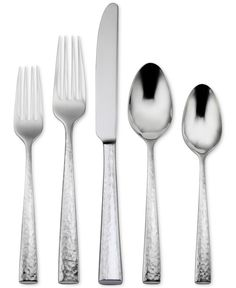 Oneida 18/10 Stainless Steel Cabria 5 Piece Place Setting - Flatware & Silverware - Dining & Entertaining - Macy's