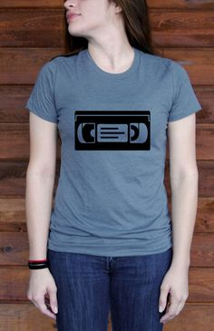 VHS Favorite Tshirt by BlackTreeCity on Etsy