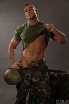 Military Stud Riding Dick