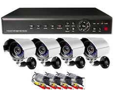 6/7/2012  $99.99 ZMODO 4-Channel Security System w/ 4 IR Weatherproof Cameras, DVR, Smartphone Monitoring & Remote Viewing