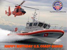 Happy Birthday to the U.S. Coast Guard! #USCG