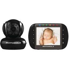 Motorola MBP43-B Digital Video Baby Monitor, Black