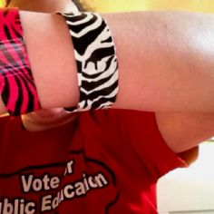Duck tape bracelets !