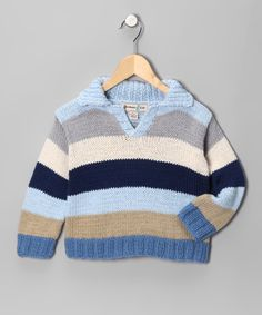 For a brisk toddler walk on the beach after Thanksgiving dinner at the beach: Wave Redonda Rugby Pullover - Infant, Toddler & Boys #zulily #fall