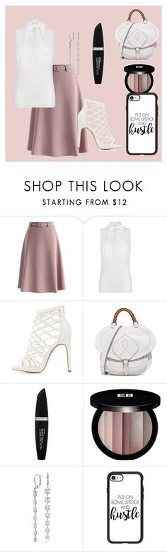 """Untitled #175"" by rozlynjanine ❤ liked on Polyvore featuring Chicwish, MICHAEL Michael Kors, Charlotte Russe, Maison Margiela, Max Factor, Edward Bess, Blue Nile and Casetify"
