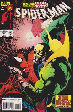 Spider-Man # 41 Terry Kavanagh  Scripts. Jae Lee  Pencils & Cover Art - Inks. Iron Fist