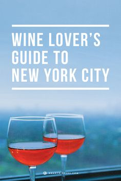We think one of the best ways to visit New York is on a wine crawl, so we've made you a guide!