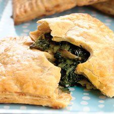 Veggie Hand Pies - These tasty vegetarian hand-held pies are perfect for an on-the-go meal or snack.