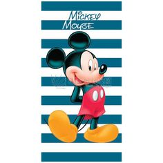 Toalla Playa Rayas Mickey Mouse