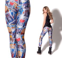Tarot Leggings by Black Milk Clothing (Made to Order)