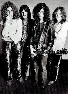 ": ""Led Zeppelin photographed by Ron Raffaelli, 1969. """