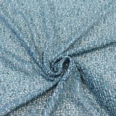 Teal Open Sweater Knit Fabric by the yard - 1 Yard Style 6216