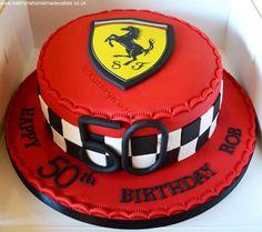 50th Birthday cake for a Formula 1 fan