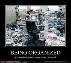 yonder is matter unorganized....