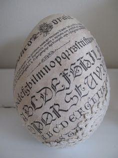 Alphabet egg