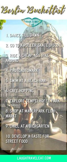 Berlin is one of my favourite city in the world. After spending 5 weeks living there, this is my top 10 bucket list things to do: