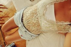 Daisy Dukes and lace... <3