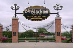 City Stadium used to be home for the Packers from Sept. 1925 until Nov. Where Curly Lambeau played there on its first opening day, Bart Starr made his first career start in the last game here. Curly Lambeau, Bart Starr, East High School, Last Game, Best Places To Live, Opening Day, Green Bay Packers, Green And Gold, Wisconsin