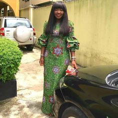 Pencil dress at its finest. you rocked dis number wella. Long African Dresses, Ankara Long Gown Styles, Ankara Styles For Women, Latest African Fashion Dresses, Ankara Fashion, African Inspired Fashion, African Print Fashion, African Prints, Pencil Skirt Outfits