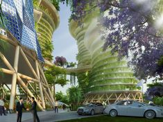 Gallery of Vincent Callebaut's Hyperions Eco-Neighborhood Produces Energy in India - 9