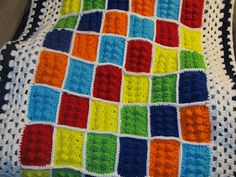 Simply Crochet and Other Crafts: Lego Blanket!