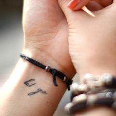 let it go tattoo ideas - Google Search