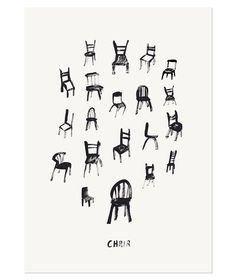 Chair Limited Edition Art Print by The Adventures Of