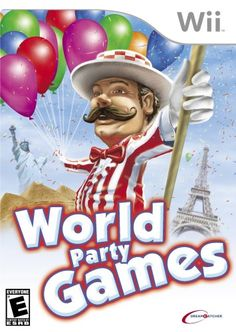 World Party Games  Nintendo Wii -- Details can be found by clicking on the image. Note:It is Affiliate Link to Amazon.