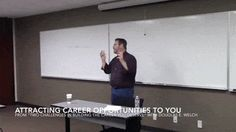 Career Opportunities with Douglas E. Welch » Attracting Career Opportunities To You from Two Challenges in Building the Career You Deserve [Video Clip]