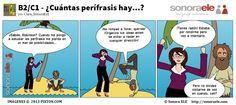 B2/C1 - Las Perífrasis Verbales Incoativas. ¿Las reconocéis? Visitad El Blog de Sonora ELE para estudiarlas.
